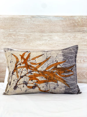 Hemp linen scatter cushion - Print 3/1Jun20
