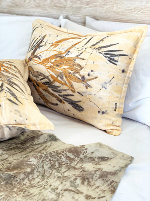 Hemp linen scatter cushion - Print 2/16Jul20