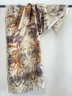 Load image into Gallery viewer, Dupioni silk wrap - Print 3/10Mar20
