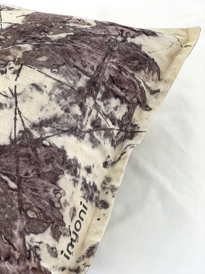 Load image into Gallery viewer, Hemp linen scatter cushion - Print 1/18Jan20