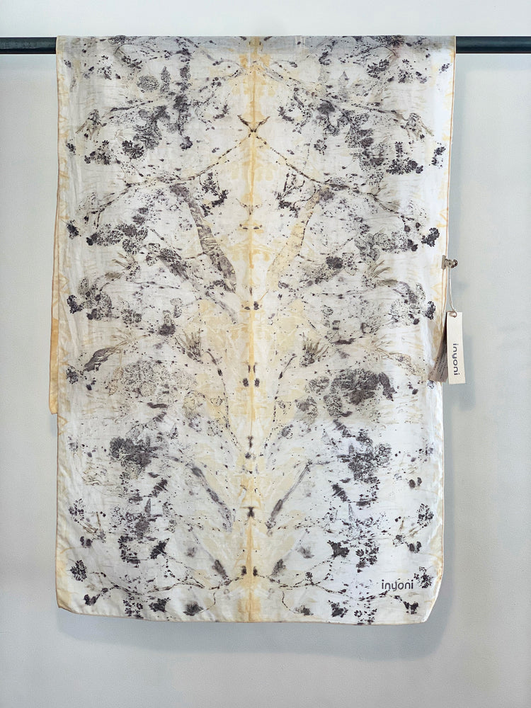 Cotton muslin scarf - Print 3/10Aug20