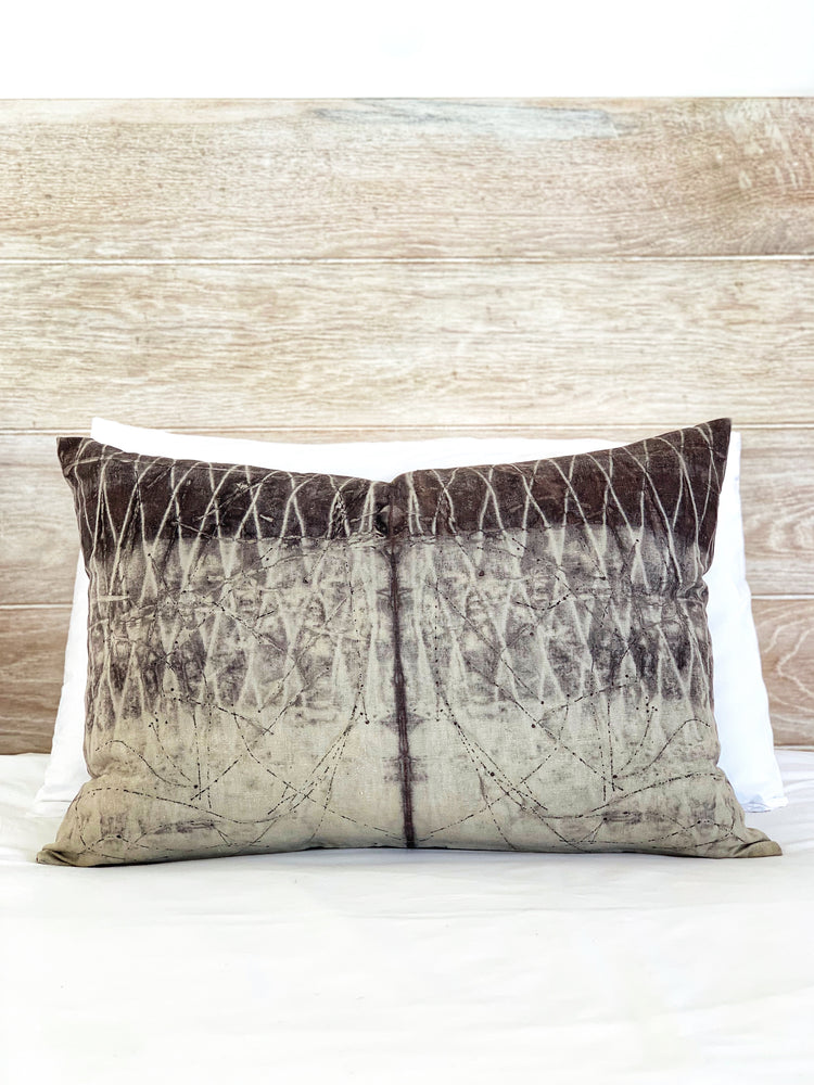 Hemp linen scatter cushion - Print 2/11Mar20