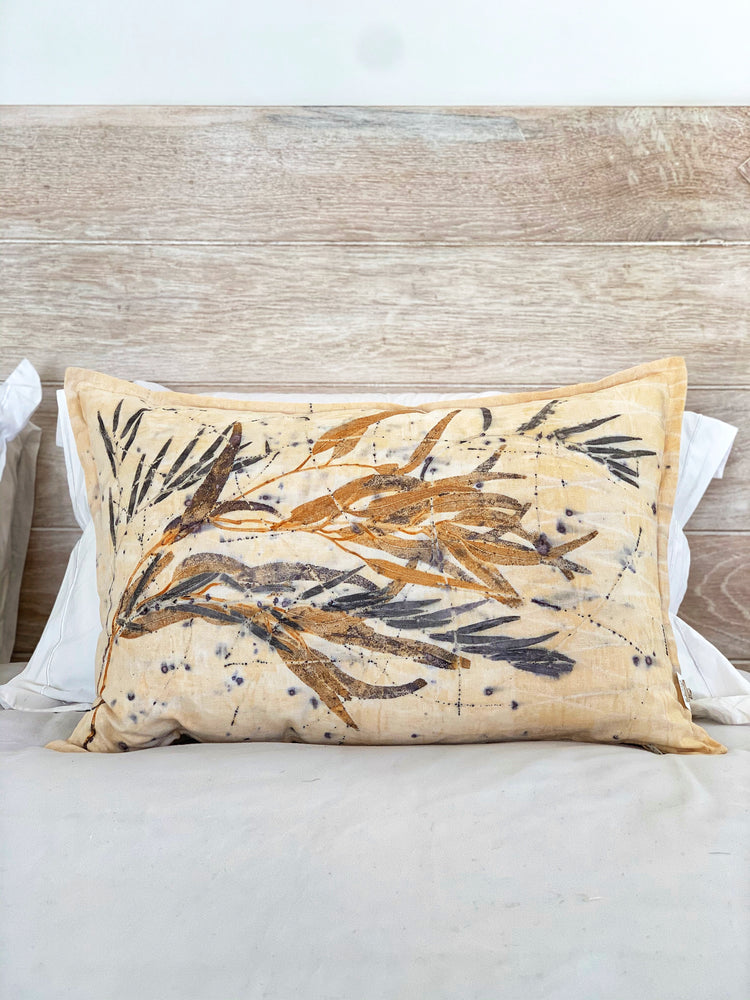 Hemp linen scatter cushion - Print 1/16Jul20