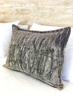 Flax linen scatter cushion - Print 2/1Jun20