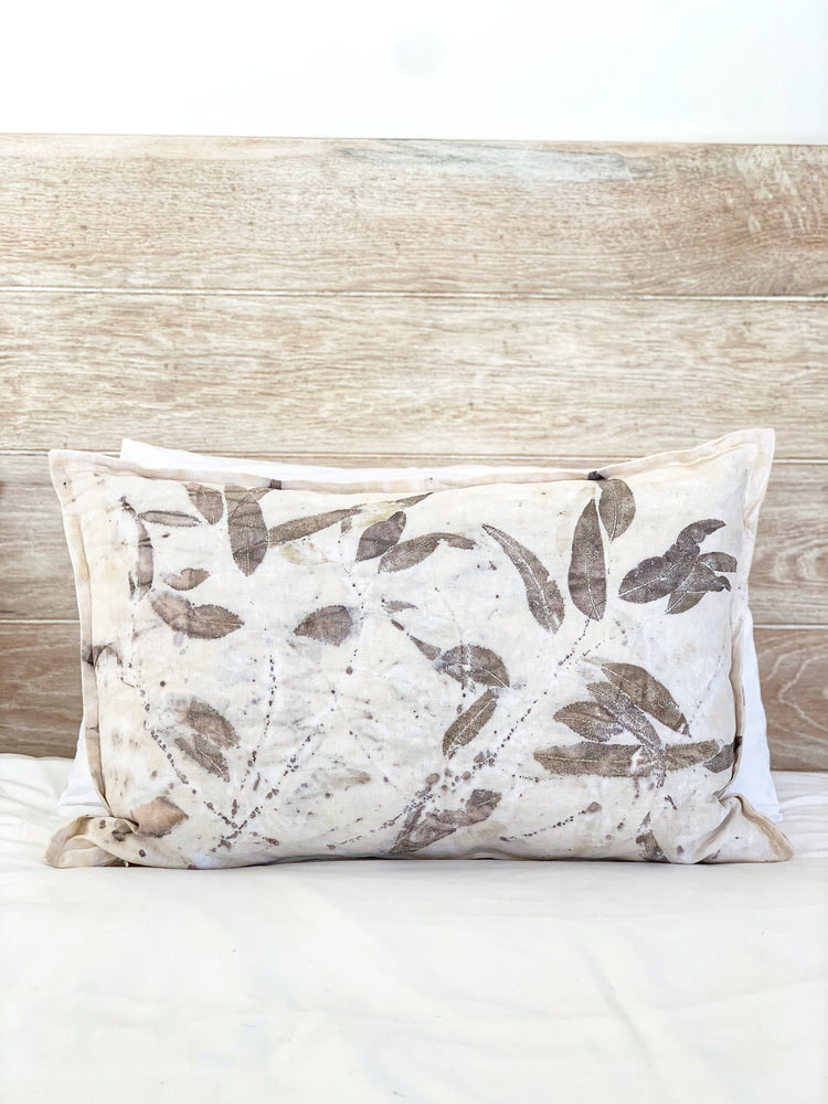 Hemp linen scatter cushion - Print 3/18Jan20