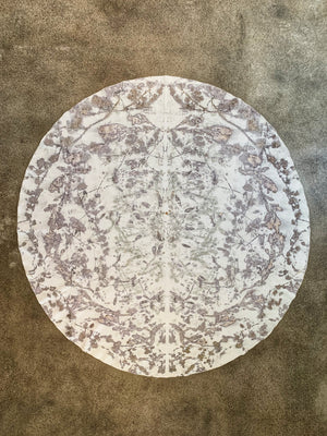 Hemp linen mandala cloth - Print 1/25Sep19