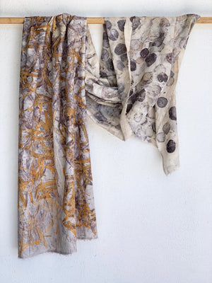 Hemp linen wrap - Print 1/7Sep20