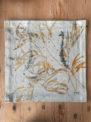 Load image into Gallery viewer, Hemp linen table napkins - Print 3/13Jun20