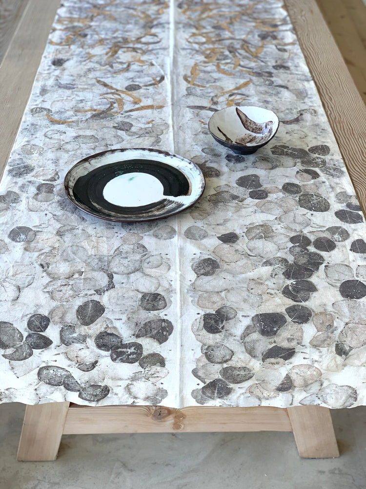 Hemp linen table runner - Print 1/7Sep20