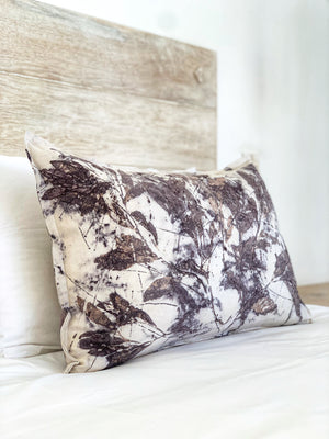 Hemp linen scatter cushion - Print 1/18Jan20