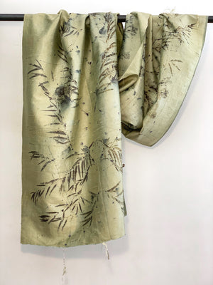 Dupioni silk wrap - Print 2/13Jul20