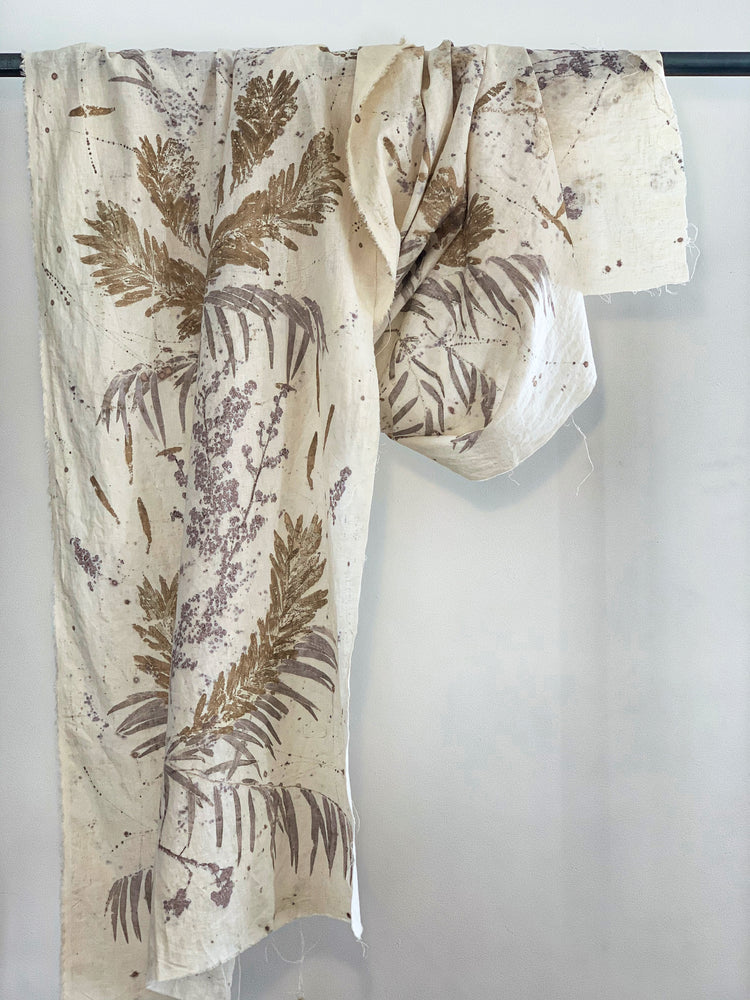 Load image into Gallery viewer, Hemp linen wrap - Print 1/8Mar20