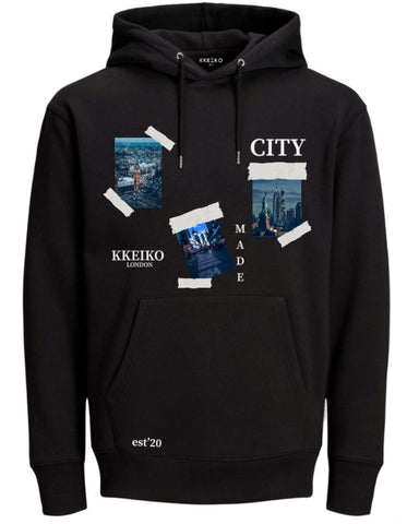 CITY MADE HOODIE - BLACK