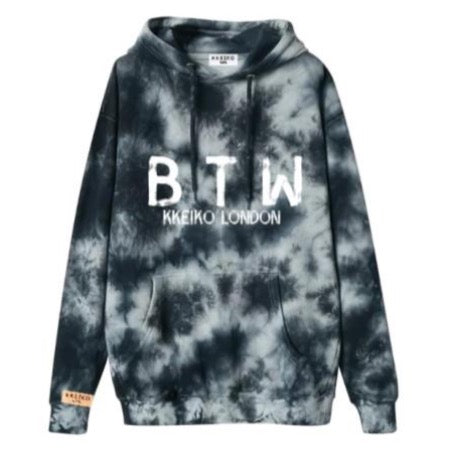 BORN TO WIN HOODIE - ACID WASH