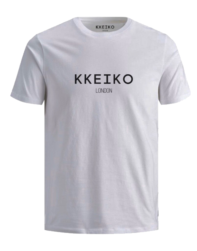 KKEIKO LONDON T-SHIRT - WHITE