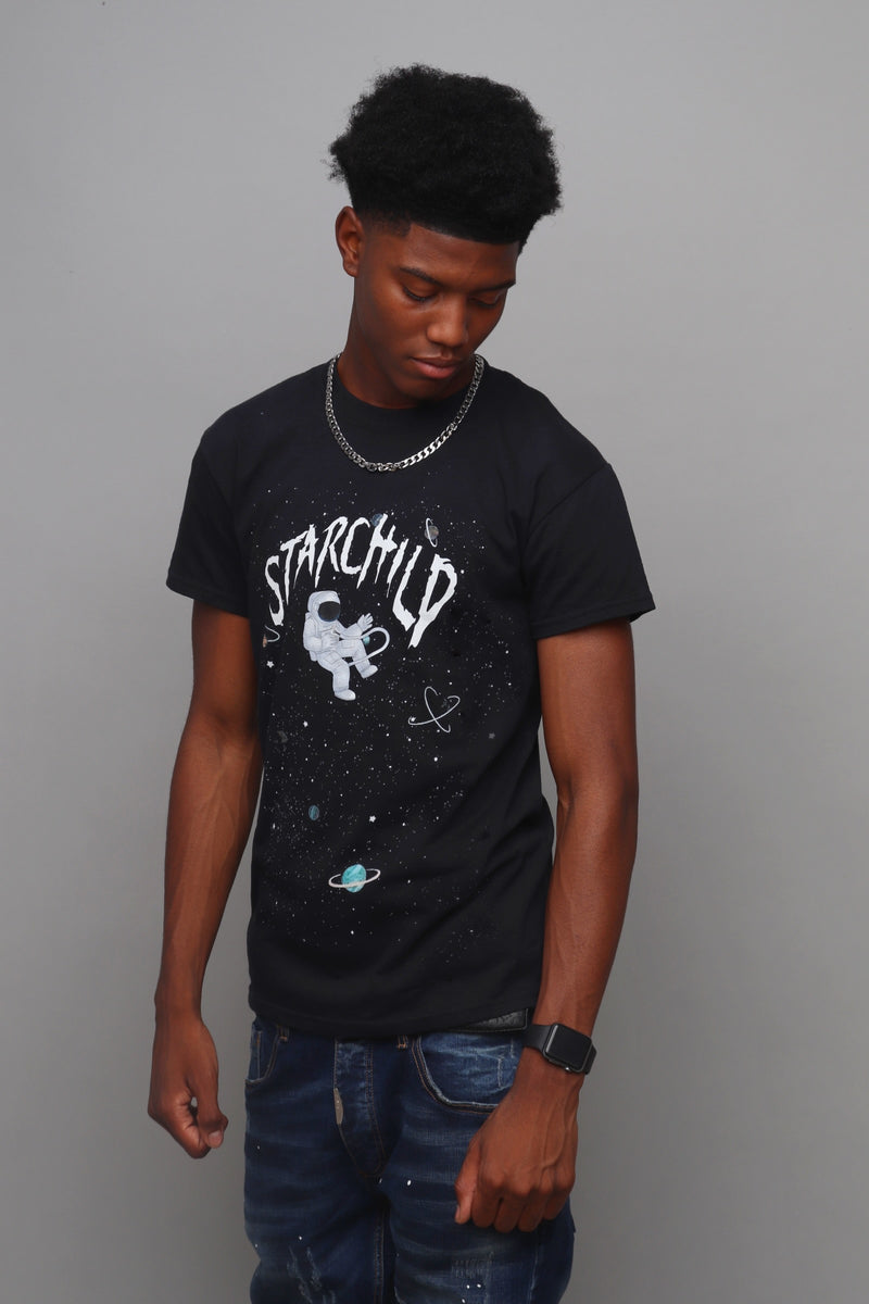 STARCHILD T-SHIRT - BLACK