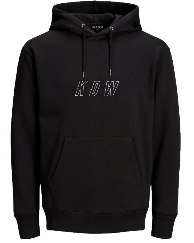 BLUE WORLD HOODIE - BLACK