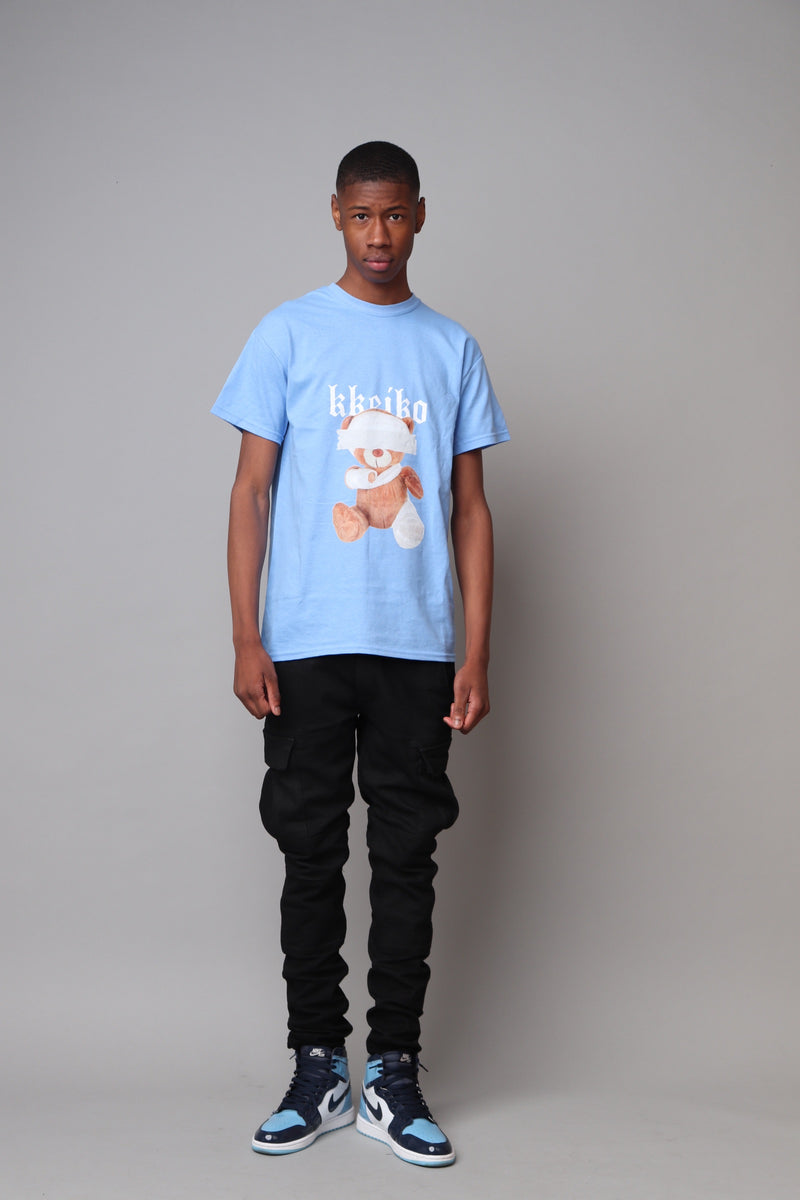 TEDDY T-SHIRT - BABY BLUE