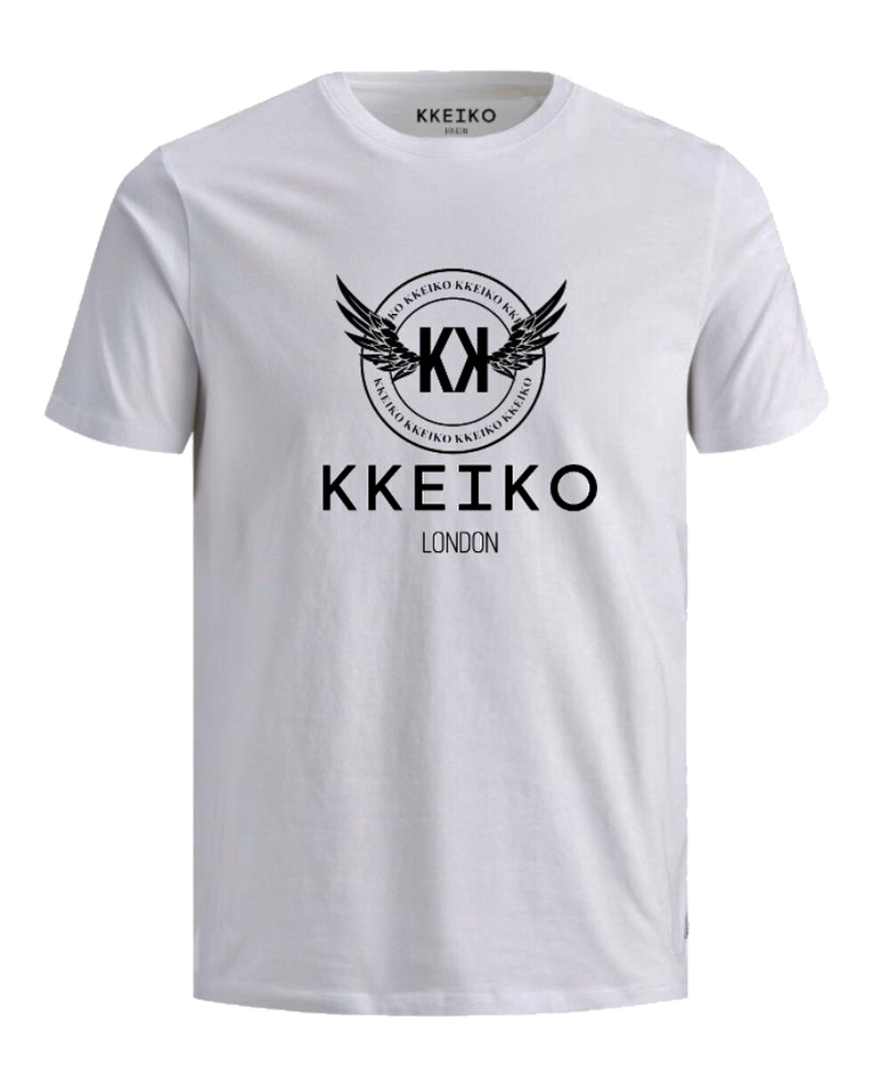 OFFICIAL KKEIKO LONDON T-SHIRT - WHITE