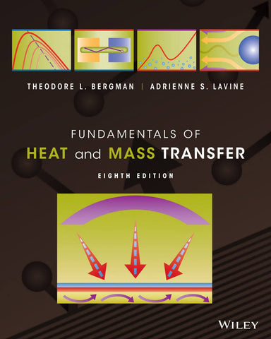 Fundamentals of heat ans mass transfert 8e édition