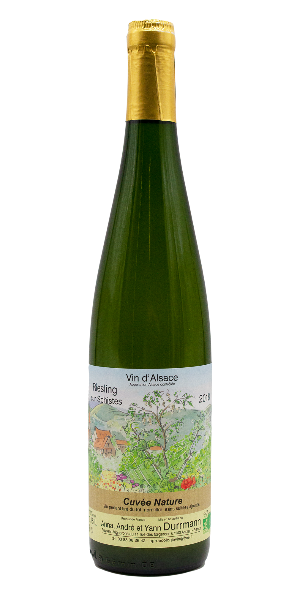 Riesling Schist Nature, 2018