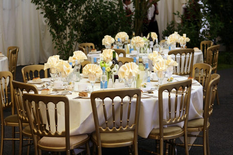 Home based business opportunities - wedding table