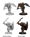 Dungeons & Dragons Nolzur`s Marvelous Unpainted Miniatures: W4 Dragonborn Male Fighter