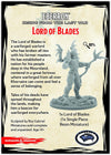 Dungeons & Dragons Eberron Minitures Lord of Blades Fig