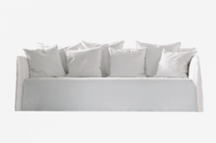Canapé Ghost lin blanc / Ghost sofa white linen