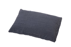 Taie rectangle en lin lavé / Rectangular washed linen pillow cover