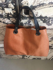 Maxi Cabas Cuir / Leather maxi tote bag