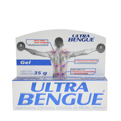 ULTRA BENGUE GEL CAJA CON TUBO C/35 GR.