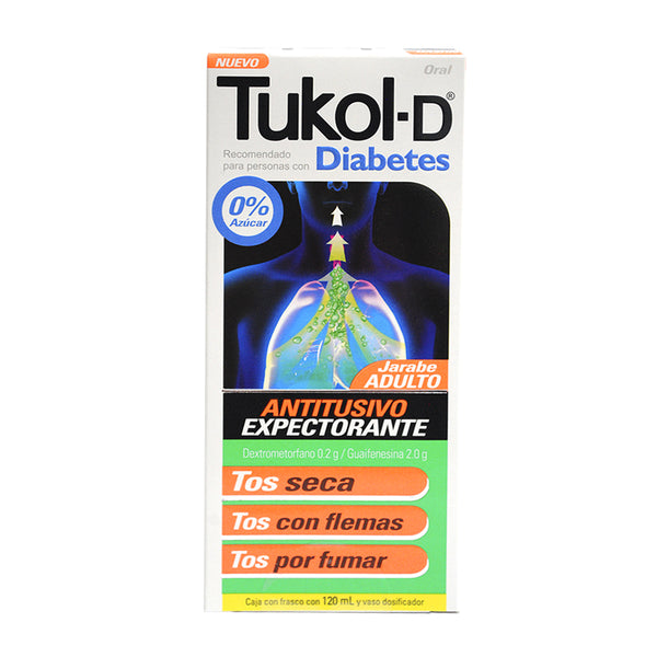 TUKOL-D 120 ML DIABETES JBE