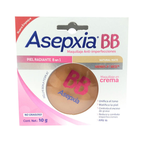 ASEPXIA 10G BB MAQ CRA NATURAL MATE