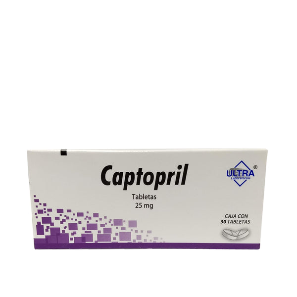 CAPTOPRIL 25MG TAB C/30