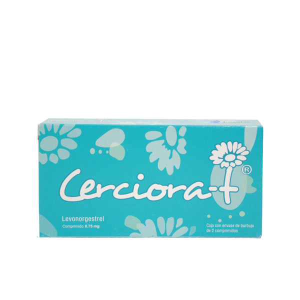 CERCIORA-T 0.75 MG CPR 2