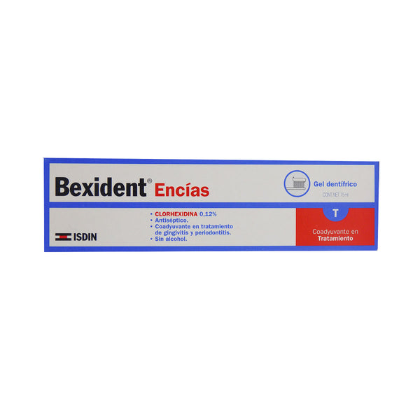 BEXIDENT ENCIAS GEL TB 75 ML