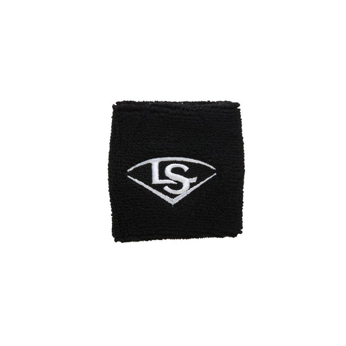"2.5"" TRADITIONAL WRIST BAND Louisville Slugger  Black O/S   PLAYER ACCESSORIES"