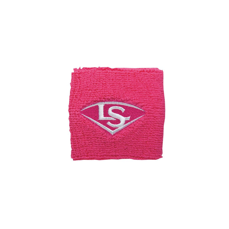 "2.5"" TRADITIONAL WRIST BAND Louisville Slugger  Pink O/S   PLAYER ACCESSORIES"