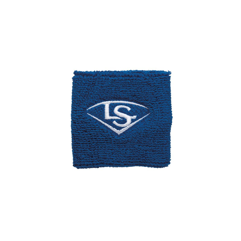 "2.5"" TRADITIONAL WRIST BAND Louisville Slugger  Royal O/S   PLAYER ACCESSORIES"