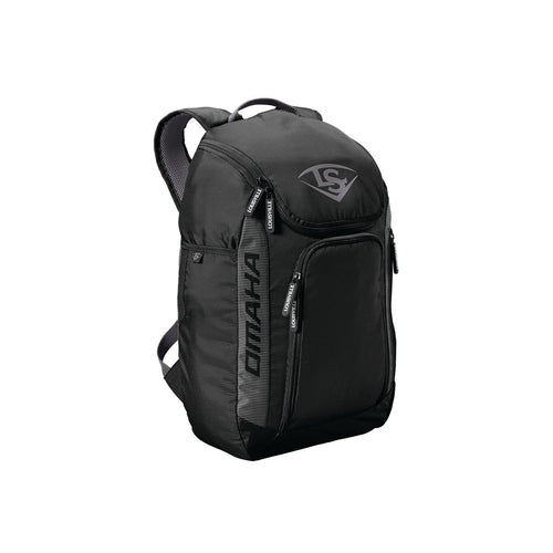 STICK PACK - OMAHA Louisville Slugger  BLACK O/S   BACKPACKS  (5455674441892)