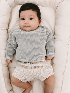CHUNKY KNIT PULLI MOONLIGHT