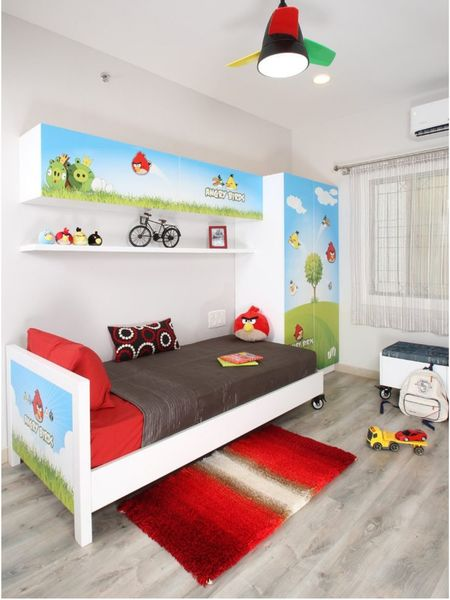 Angry bird style déco