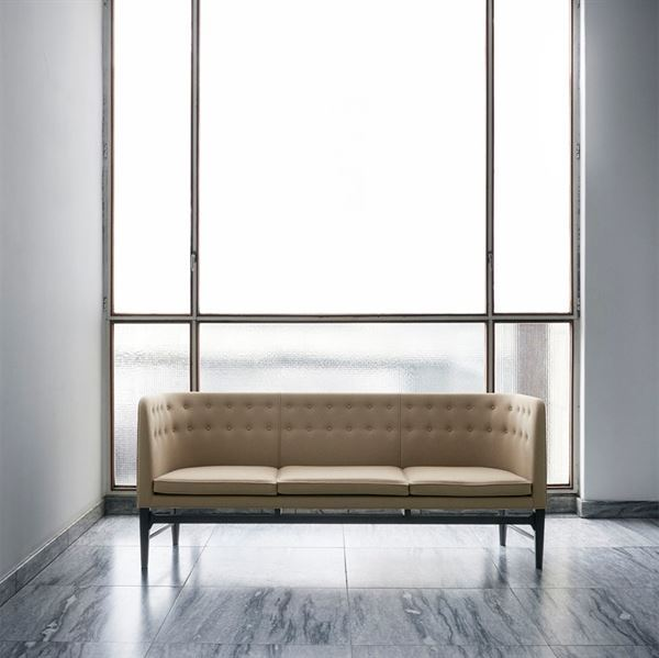 Andtradition - Mayor AJ5 - Sofa - Sort eg - L 200 cm