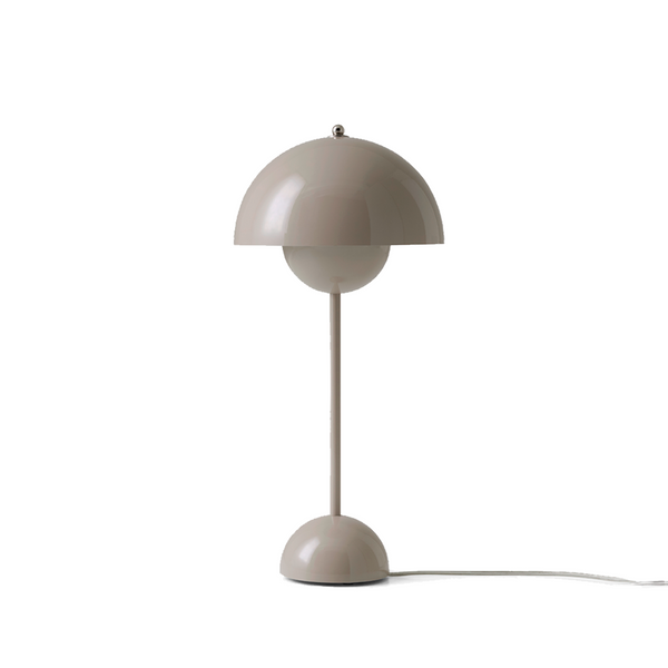 Andtradition - Flowerpot VP3 - Bordlampe - Beige grå