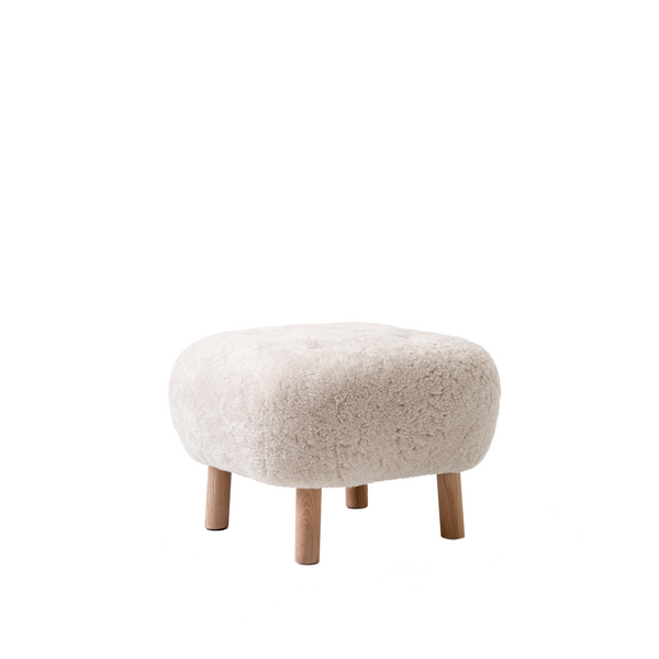 Andtradition - Lille Petra ATD1 - Pouf - Sheepskin Moonlight