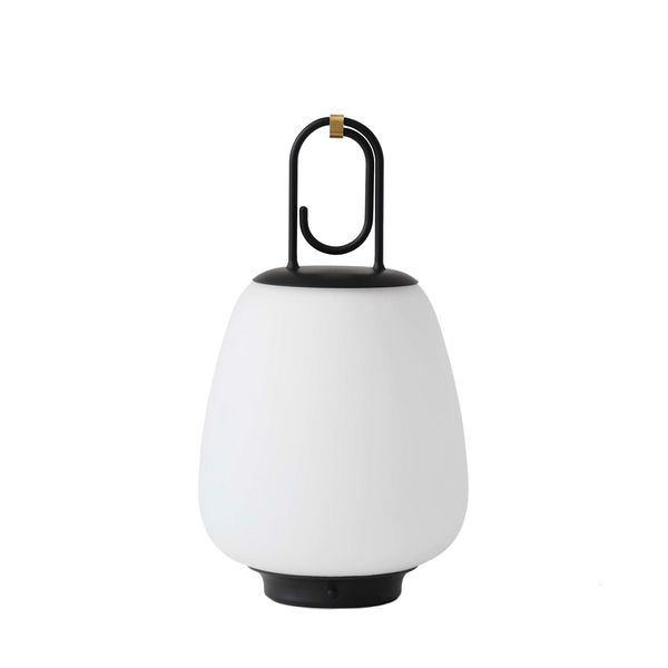 Andtradition - Lucca SC51 Transportabel lampe - Opal - Sort