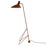 Andtradition - Tripod HM8 - Gulvlampe - Maroon - H134 cm
