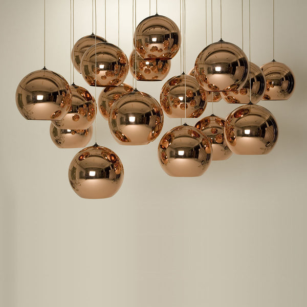 Tom Dixon - Copper shade - pendel - Ø25 cm