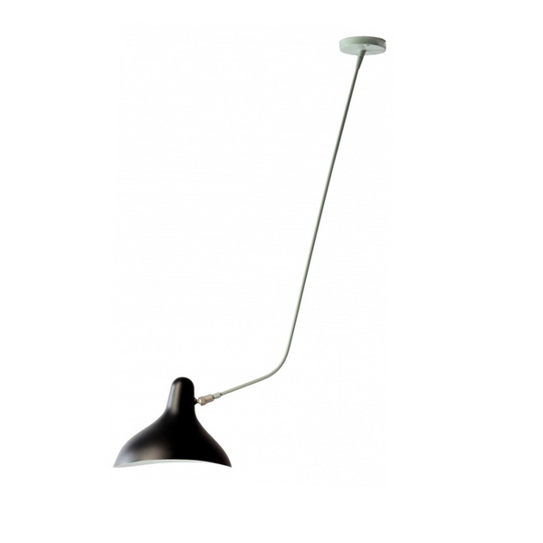 DCW édition Paris - Mantis BS4 - Loftslampe - Sort/Grøn